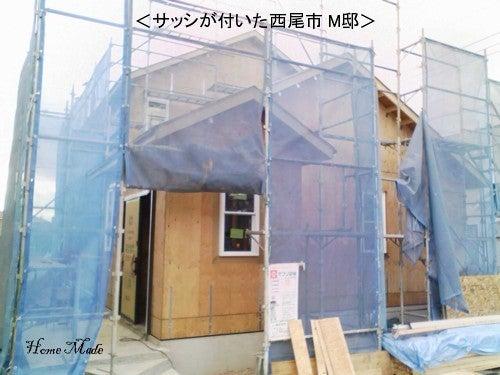 住まいと環境~手づくり輸入住宅のホームメイド-建方完了M