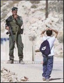 $国際協力&中東情報 -IsraeliSoldierAndPalestinian2