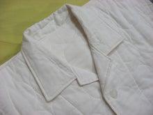 $まつおか寝具店のコツコツお仕事帳-パシーマ衿付きパジャマ