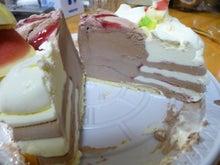 「ひろんぐー」の つぶやき @名古屋-アイスケーキ