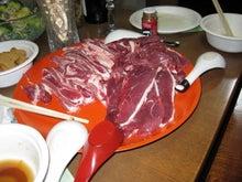 歩き人ふみの徒歩世界旅行 日本・台湾編-猪肉