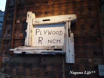 Nagano Life**-PLYWOOD LANCH