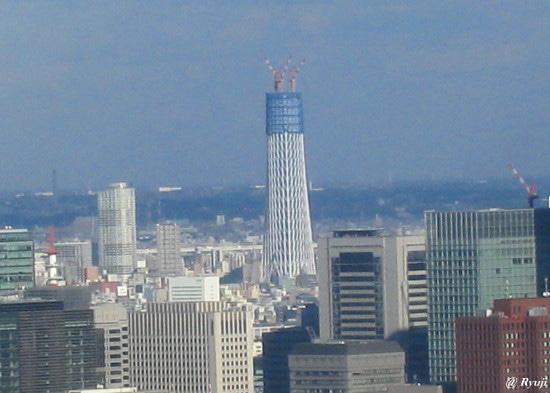 ∞最前線 通信-新東京タワー from 六本木