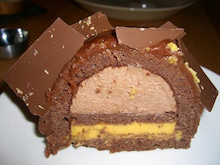 ゴエモンのブログ-ケーキ断面