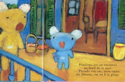$フランスのビジュアルブックと湘南の生活と-penelope1