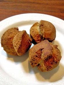 ファーム木精レシピ集-麦焦がしのドーナツ