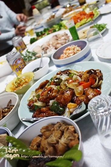 $タラゴンの挿し木 ~お野菜多めのオシャレな食卓~
