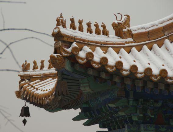 生活在中国-Living in China  (旧:中国に留学するぞ!!)-雪の北京