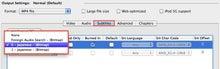 $MacやらiPhoneブログ-Subtitlesタブ