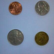 珍しいお賽銭