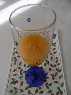 ローフード&マクロビオティックで美味しい生活♪-りんごとみかんのジュース
