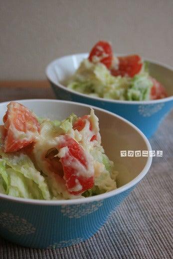 こはくのブログ/マカロニの上のパルミジャーノ-ポテトサラダ1