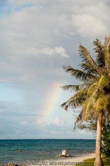 $Marianas Way-マイクロビーチでのレインボー