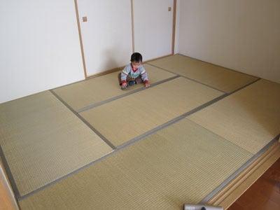 のほほん日記 in 大阪-畳組み替えてみた