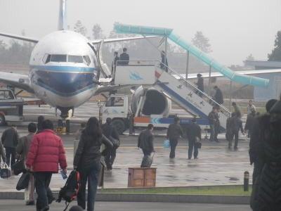 中国留学して起業しちゃったオヤジのブログ-「中国留学情報」 小さな空港08