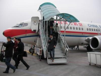 中国留学して起業しちゃったオヤジのブログ-「中国留学情報」 恩施空港03