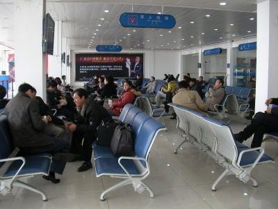 中国留学して起業しちゃったオヤジのブログ-「中国留学情報」 小さな空港05