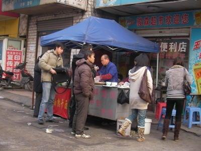 中国留学して起業しちゃったオヤジのブログ-「中国留学情報」 武漢屋台03