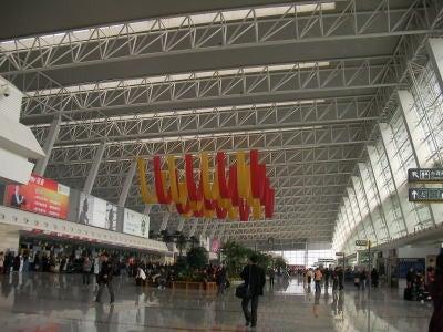 中国留学して起業しちゃったオヤジのブログ-「中国留学情報」 武漢空港01