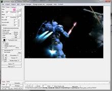 $ガンプラでアニメ動画をつくろっと。-ガンプラプレイ--LSMaker_マスク成功