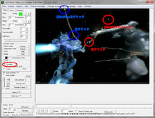 $ガンプラでアニメ動画をつくろっと。-ガンプラプレイ--LSmaker_4ポイント設置