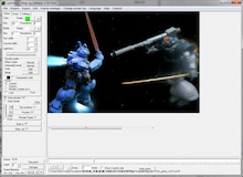 $ガンプラでアニメ動画をつくろっと。-ガンプラプレイ--LSmaker_複数のサーベル