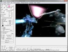 $ガンプラでアニメ動画をつくろっと。-ガンプラプレイ--LSmaker_ブラシ成功