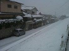 鹿児島 有限会社オフィスインズ社長のブログ-雪1