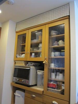 のほほん日記 in 大阪-食器棚の上 アフター
