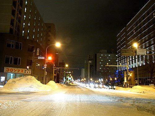 札幌雪景色|リアルワールド社長のBLOG
