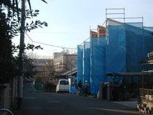 $メゾネット桜台(東京都 練馬区)-建築現場100118d