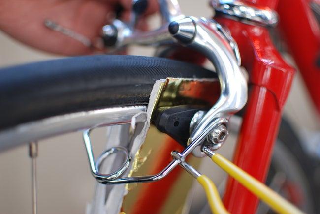 自転車の 自転車 調整 ブレーキ : ... ブレーキ調整工具 @ダイソー