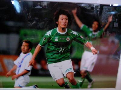 創立314年?!東京ヴェルディ1696-ヤナギ選手2009-1