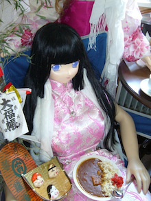 ティセDOLLのブログ-凛 ピンクチャイナ カレー web