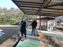 $ハラやんのクレー射撃と趣味のガレージ-那須国際2010/1・17