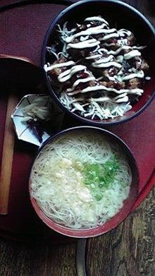 NOBURINの別荘-三輪そうめんセット(ソースカツ丼)