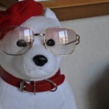 メガネをかけたお父さ…