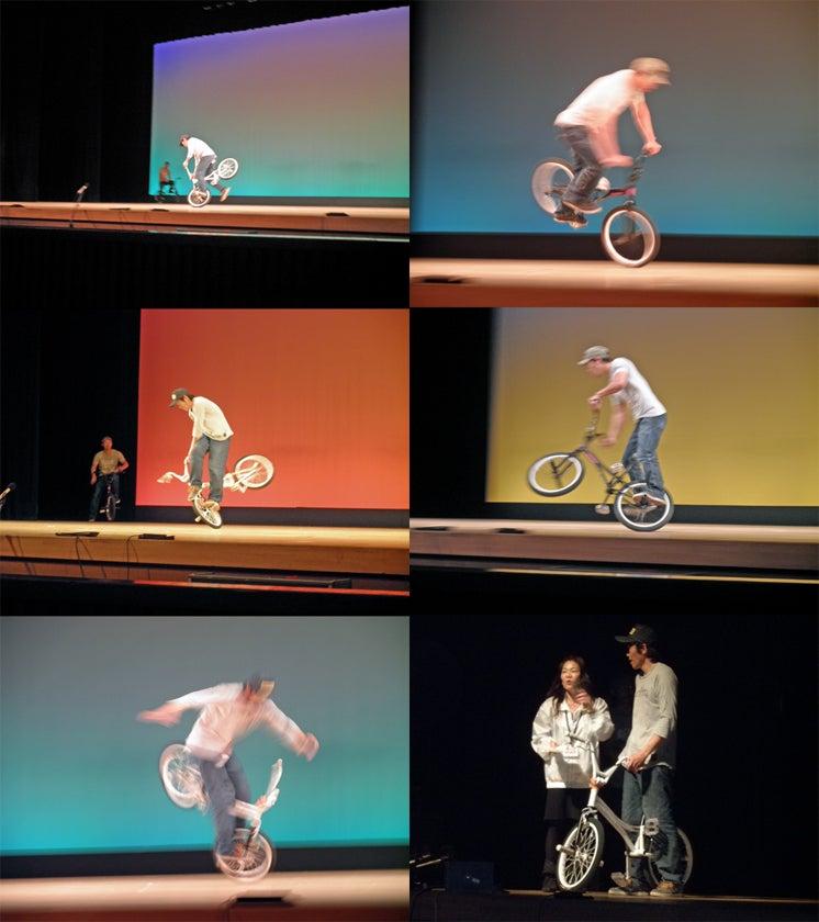 BMXフラットランダー山本亮二日記-文化センターフェスティバル