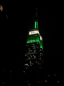 N.Y.に恋して☆-Green empire state building
