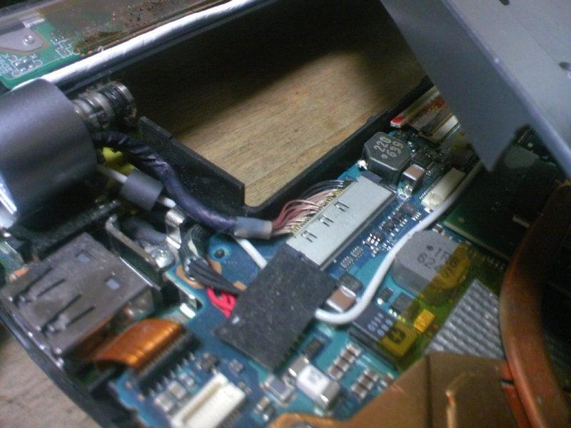 スライダーズおやじ-VAIO VGN-TX 液晶交換