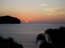 小笠原父島エコツアー情報    エコツーリズムの島        小笠原の旅情報と父島の自然-夕日