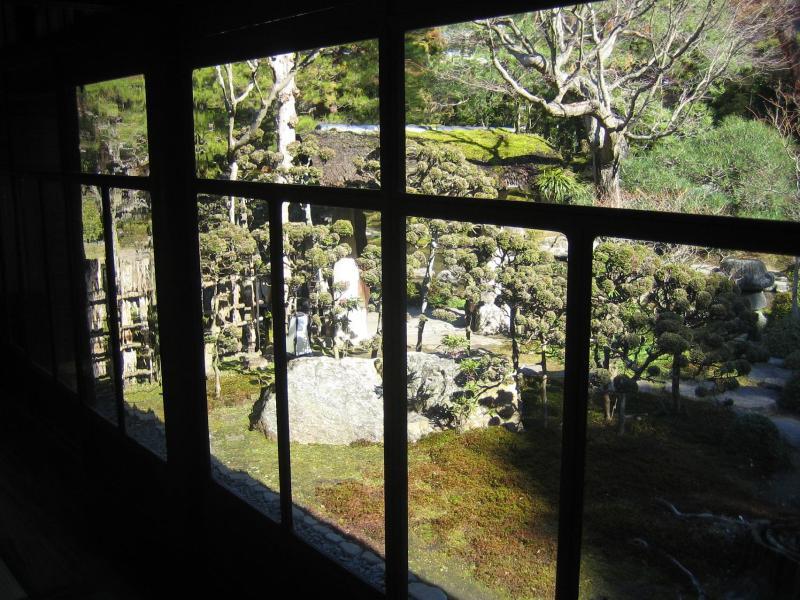 桜鶴苑 庭園1