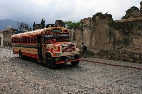 ★ 世界一周御披露目帳 ★-赤いバス