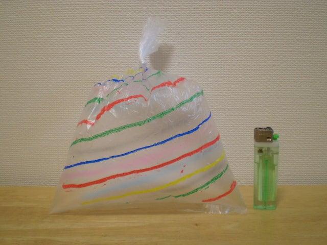 幼児 2歳 幼児教育 : 手作りおもちゃービニール袋編 ...