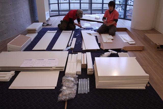 Ikea Esstisch Lyckhem ~ オフィスのIKEA家具組み立てにお伺いしてまいりました(@@)|ELKGARAGE