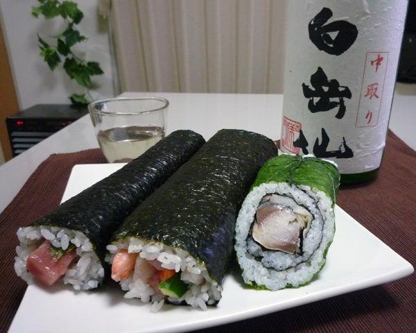 $cheltenhamのブログ-手巻き寿司
