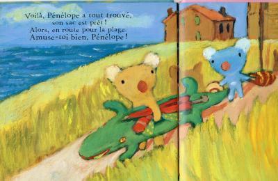 フランスのビジュアルブックと湘南の生活と-penelope12
