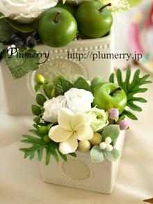 Plumerry(プルメリー)プリザーブドフラワースクール (千葉・浦安校)-プルメリア カメオ