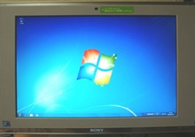 目が疲れることが好き☆-Windows7トップ