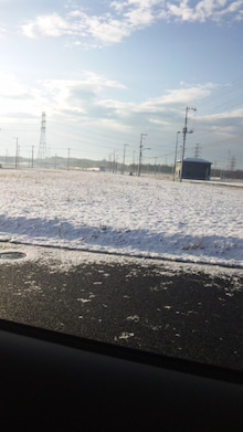 ふたば…☆-雪道